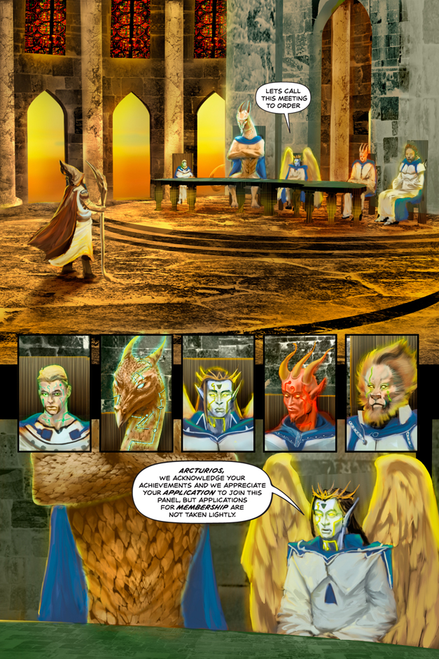 Luminous Ages Issue 2 Page 2
